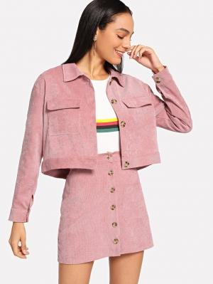 Комплект  Розовый цвета