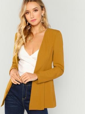 Пиджак  Имбирный цвета