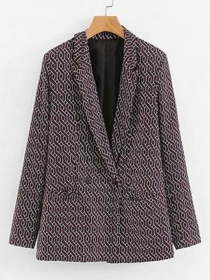 Пиджак  Коричневый цвета