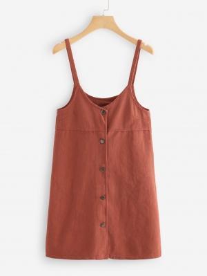 Джинсовое платье  Хаки цвета