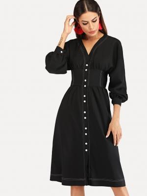 Платье  Чёрные цвета