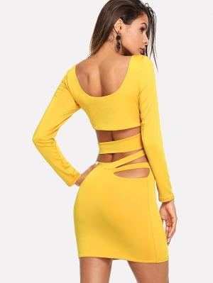 Платье  Жёлтые цвета