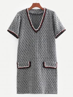 Платье  Серые цвета