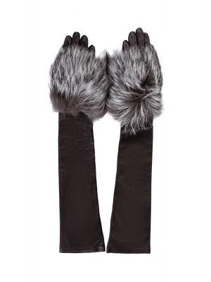 Перчатки Alexander McQueen