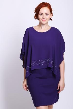 Платье  Сиреневый цвета