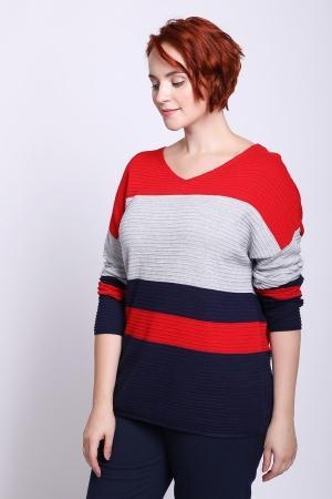 Пуловер  Разноцветный цвета