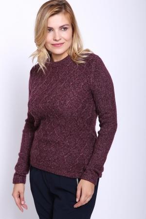Пуловер  Фиолетовый цвета
