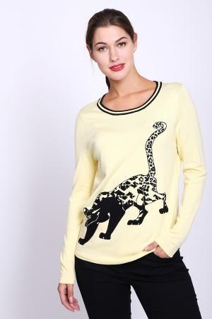 Пуловер  Жёлтый цвета