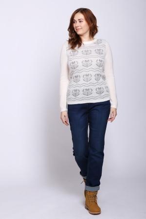 Пуловер   цвета
