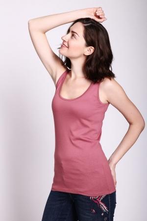 Топ  - Розовый цвет