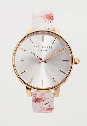 Часы  розовый цвета