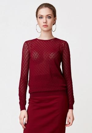 Джемпер  бордовый цвета