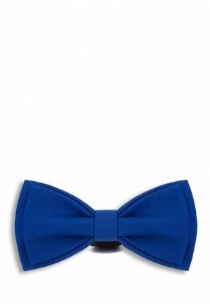 Галстук  синий цвета