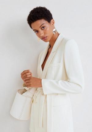 Жакет  белый цвета