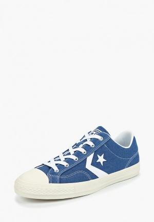 c981a3a2e6b6 Кеды CO011AMBJUV5 голубого цвета Converse за 4 380 руб. купить в ...