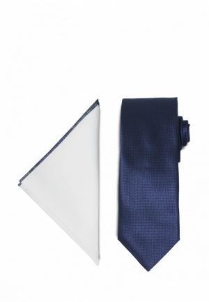 Комплект  - белый, синий цвет