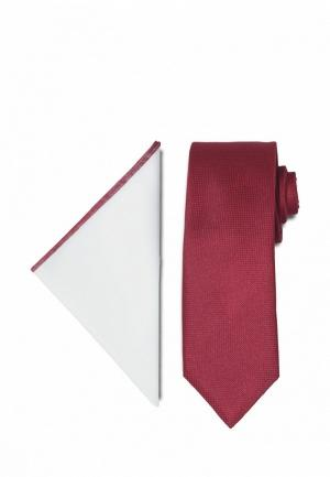 Комплект  - белый, бордовый цвет