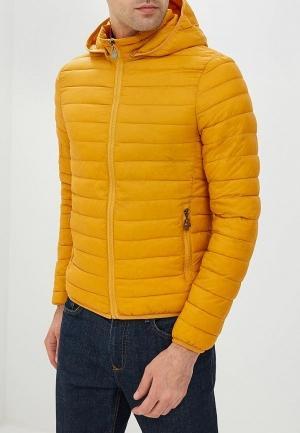 Куртка утепленная  - оранжевый цвет