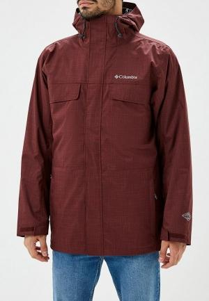 Куртка утепленная  - бордовый цвет