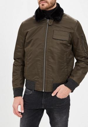Куртка  хаки цвета