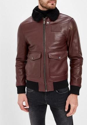 Куртка  бордовый цвета