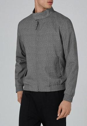 Куртка  серый, синий цвета