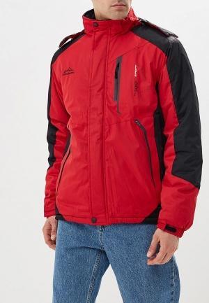 Куртка утепленная  красный цвета