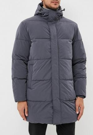 Куртка утепленная  серый цвета