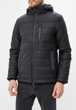 Куртка утепленная  черный цвета