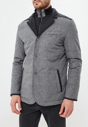 Куртка утепленная  - серый цвет