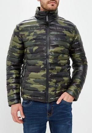 Куртка утепленная  хаки цвета