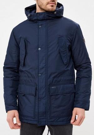 Куртка утепленная  синий цвета