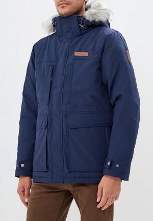 Куртка утепленная  - синий цвет