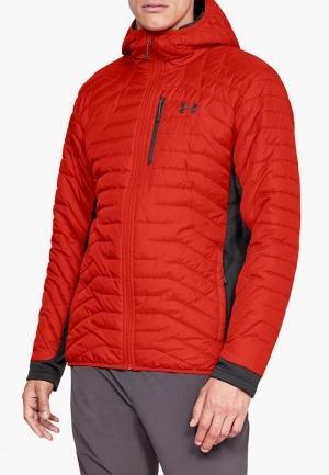 Куртка утепленная  - красный цвет