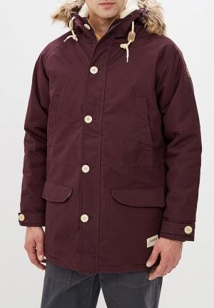 Куртка утепленная  - фиолетовый цвет