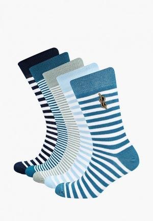 Носки  бирюзовый, зеленый, синий цвета