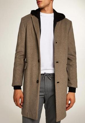 Пальто  - бежевый цвет