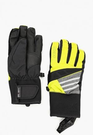 Перчатки  желтый цвета
