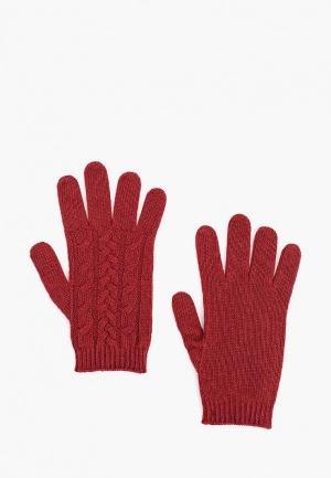 Перчатки  бордовый цвета