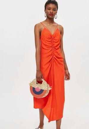 Сарафан  - оранжевый цвет