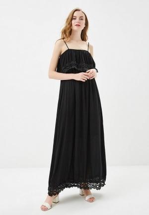 Сарафан  черный цвета