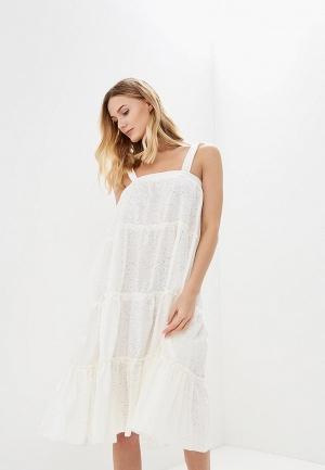 Сарафан  - белый цвет