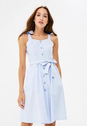 Сарафан  - голубой цвет