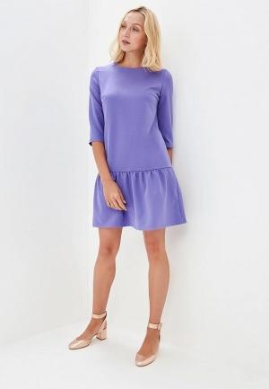 Платье  фиолетовый цвета