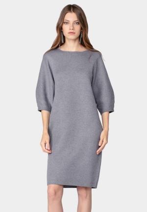 Платье  серый цвета