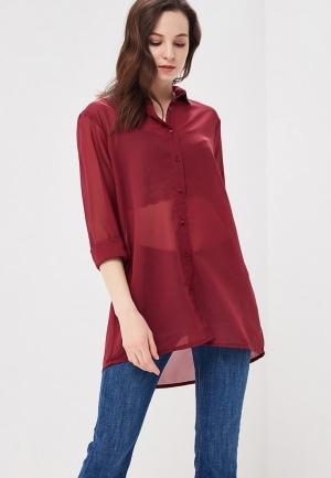 Рубашка  Бордовый цвета