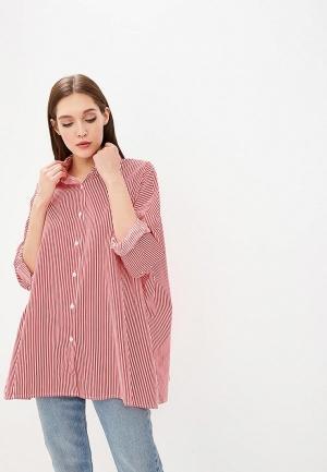 Рубашка  красный цвета