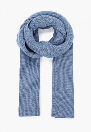Шарф  - голубой цвет