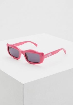 Солнцезащитные очки  розовый цвета