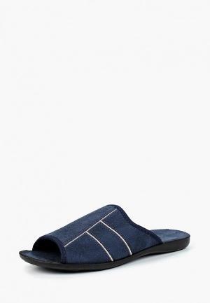 Тапочки  синий цвета